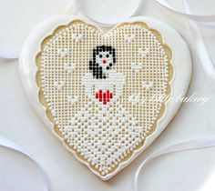 Fantastic!  Reminds me of the filet crochet my grandma used to do  -- from My Little Bakery