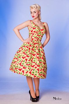 Inspiration, not a pattern.  limb vanity project dresses prints vintage