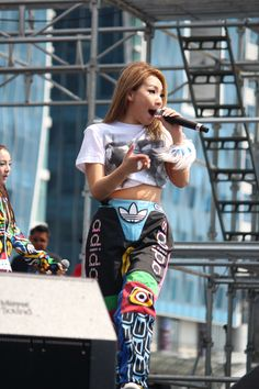 [Photos] HQ photos of CL at Adidas miRun Busan (BEXCO) 'all in for my city' concert (April 21, 2013) |