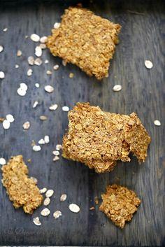 Crackers aux flocons d'avoine