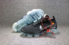 f15e5e896c16f6 Men s Off-White x Nike Air Vapormax Fk Running Shoes Black