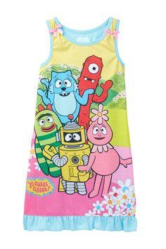 Yo Gabba Gabba Sleeveless Gown (Toddler Girls)