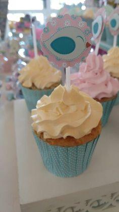 Cupcake passarinhos by @danicananica