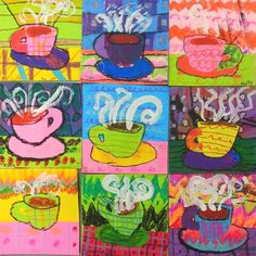 Cassie Stephens: In the Art Room: 5 Quick Winter Projects