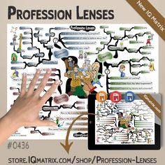 The Profession Lenses IQ Matrix explores four lenses you can use to help you achieve your goals, overcome setbacks, solve problems, and inspire deeper levels of self-confidence. The lenses include the Scientist Lens, the Explorer Lens, the Detective Lens, and the Psychologist Lens. Each of these professions brings a unique perspective to the events and circumstances of our lives.  #problemsolving #perspectivelenses #iqmatrix #mindmap Achieving Goals, Achieve Your Goals, Self Confidence, Problem Solving, Improve Yourself, How To Apply, Mindfulness, Map, This Or That Questions