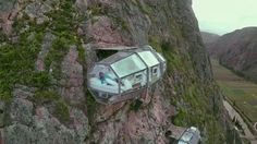 Room with a view: Skylodge Adventure Suites in Peru.