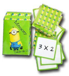 La crapette des divisions jeu sur les tables de division - Apprendre table de multiplication en jouant ...