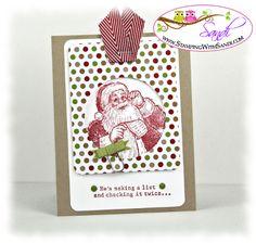Santa's List 1 by Sandi @ www.stampingwithsandi.com