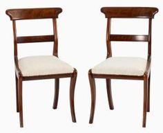 Examples of Antique Furniture Leg Styles: Saber Leg