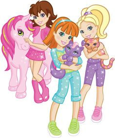 polly pocket with animals - Google Search
