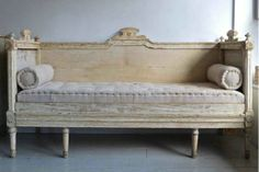 Swedish Gustavian Sofa-fabulous!