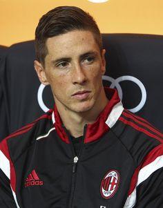 OMGosh look at his hair!! - Fernando Torres Photostream on ZIMBIO.