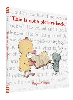 In this quirky yet sweet picture book about the joy and power of reading, Duck learns that even books without pictures can be fun. While he and his friend Bug may struggle at first to decipher their b