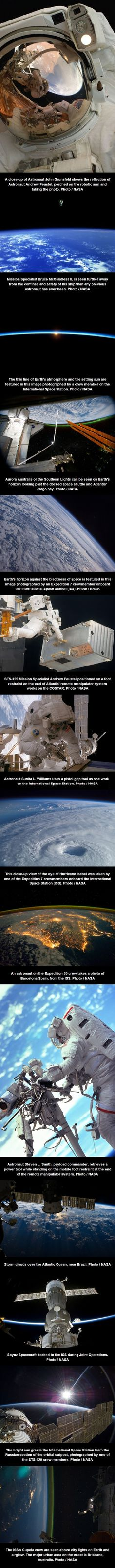 Photos released by NASA