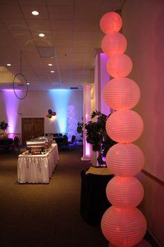 Arbutus Ballroom Drapped In White Cirque Du Soleil