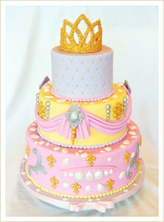 Princess cake... Birthday Idea? A girl can dream right?