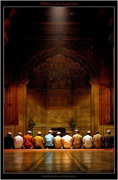 Islam: Monotheistic religion that emerged in the Arabian peninsula during the seventh century Islamic Images, Islamic Pictures, Islamic Messages, Islamic Quotes, Rajasthan Inde, Alhamdulillah, Muslim Culture, Mosque Architecture, Image Citation