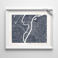 Lyon Map, France Print, Lyon Poster, French Art, Art Print, Giclee Art Poster, Kids Room Decor, Wall Decor, Bedroom Art, Christmas Gift, Wall Art. PRICES FROM $9.95. CLICK PHOTO FOR DETAILS. #inkistprints #map #streetmap #giftforher #homedecor #nursery #wallart #walldecor #poster #print #christmas #christmasgift #weddinggift #nurserydecor #mothersdaygift #fathersdaygift #babygift #valentinesdaygift #dorm #decor #livingroom #bedroom