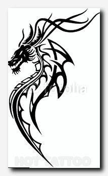 Fantasiedrache in rot und schwarz, tribal style photo dragon tattoo designs Stock Photo Girl Arm Tattoos, Body Art Tattoos, Small Tattoos, Sleeve Tattoos, Tattoos For Guys, Maori Tattoos, Samoan Tattoo, Polynesian Tattoos, Tatoos