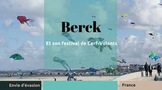 Berck-sur-Mer et son festival du Cerf-Volant