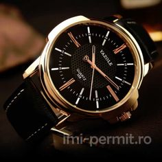 Un ceas Yazole pentru domnii pretentiosi