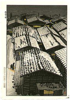 Shiro Kasamatsu - La mer d'Echigo 1957. S)
