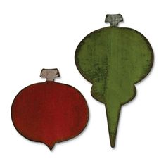 Sizzix Movers & Shapers Die - Carved Ornaments $19.99