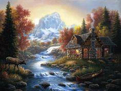 Judy Gibson   American Decorativ painter