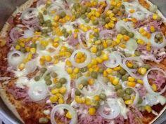 Receita de Pizza de liquidificador fácil. Enviada por Daiane Rosa e demora apenas 30 minutos.