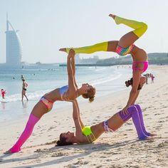 35 best partner stretches images  partner yoga yoga