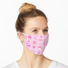 ' White Cat Polka Dot Pattern Isolated on Fucshia Pink' Mask by taiche Funny Face Mask, Face Masks, Blue Mask, Heart Patterns, Dot Patterns, Indian Patterns, Mask Design, Make A Donation, Cute Faces