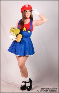 Lady Mario Cosplay http://geekxgirls.com/article.php?ID=4047