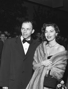 Frank Sinatra and Ava Gardner at the premiere of Pandora and the Flying Dutchman, 1951