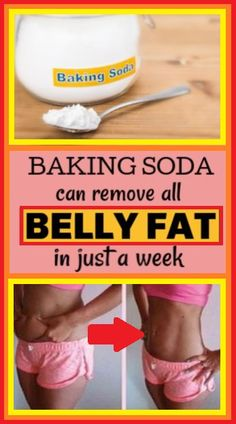 Baking Soda Can Remove All Belly Fat In 1 Week - Natural Things Remove Belly Fat, Lose Belly Fat, Lose Fat, How To Lose Weight Fast, Belly Fat Loss, Weight Loss Drinks, Health Promotion, Diet Tips, Diet Ideas