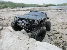 SCX10 Honcho but sent it out to R2J for custom work. At the end, it became a Hilux truggy with the 2-speed Summit transmission.   Here's the build link at rccrawler -> http://www.rccrawler.com/forum/axial...lux-build.html