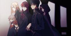 Dark Anime Guys, Cute Anime Guys, Fantasy Characters, Anime Characters, Manga Art, Anime Art, Yandere Anime, Amuro Tooru, Dibujos Cute