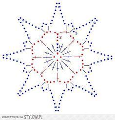 crochet pattern - star