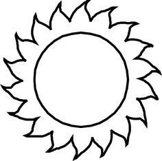 sunny_l.gif (427×424) Sun Template, Templates Printable Free, Free Printable Coloring Pages, Free Printables, Sun Coloring Pages, Coloring Sheets, Colouring, Primary Songs, 3rd Grade Writing