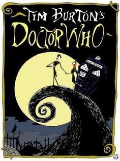 Dr who meets nightmare before Christmas ! Love it