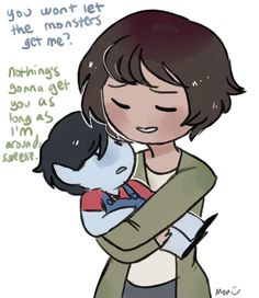I just love that marceline's mom was voiced by Rebecca sugar!!