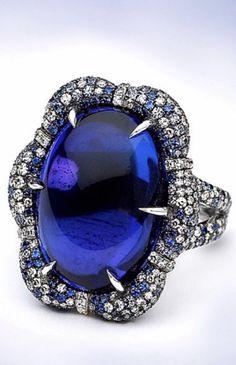 Sapphire Jewelry, My Beauty, Nice Things, Jewlery, Jewelry Accessories, Gemstone Rings, Diamonds, Sparkle, Bangles