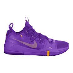 wholesale dealer 949a4 c3ae6 Nike Men s Kobe AD TB Basketball Shoes - Purple Yellow