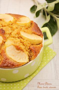 gâteau aux pommes indice glycémique bas