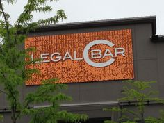 Legal C Bar, Hingham. One guess - what's the sign made out of?