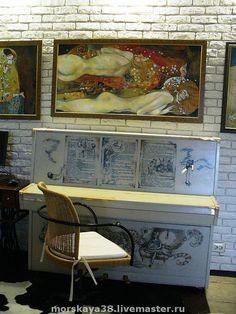 """пианино """"Алиса"""" - оригинальная роспись,пианино,роспись мебели,оригинальный интерьер"""