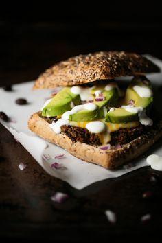 Quinoa Black Bean Burger by thiswildseason.com