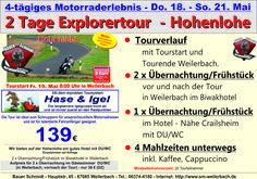 Motorradtour Hohenlohe 2 Tage