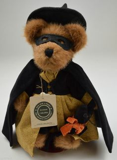 Boyds Bears Endora Spellbound Plush Teddy Bear The Archive Collection Halloween