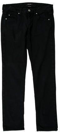 Isabel Marant Mid-Rise Straight-Leg Jeans Isabel Marant, Bermuda Shorts, Denim, Stylish, Jeans, Tops, Women, Fashion, Moda