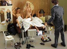 barbie goes wild !